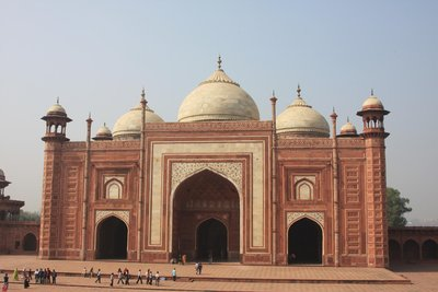 Mosque at the Taj Mahal