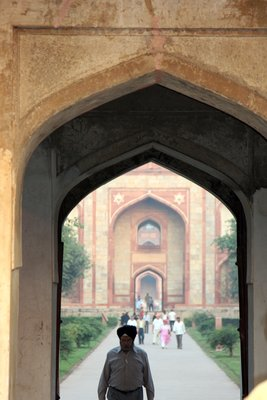 Archway Humayun's Tomb