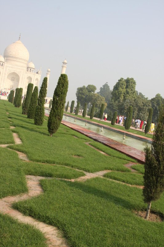 Gardens at the Taj
