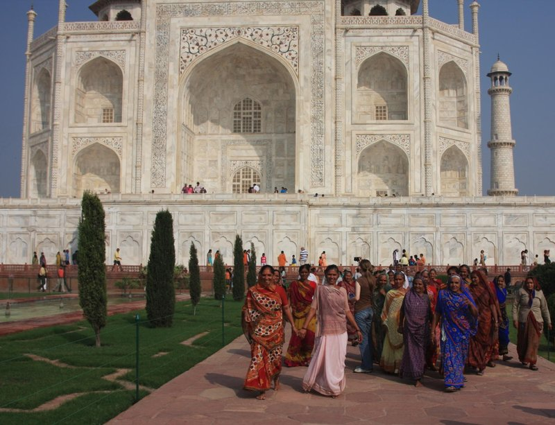 Afternoon Stroll at the Taj