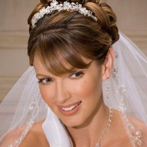 www corabridal com Bel Aire Bridal Veils V8564