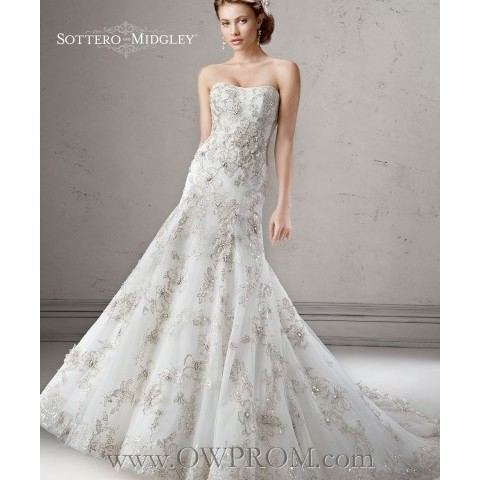 www owprom com Sottero & Midgley REGENCE 4SS946 FALL2014 Wedding Dresses