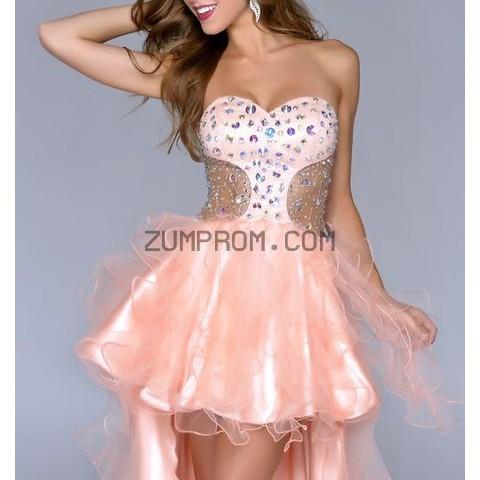 http www zumprom com Style 4057 Hi Lo Dress By Nina Canacci