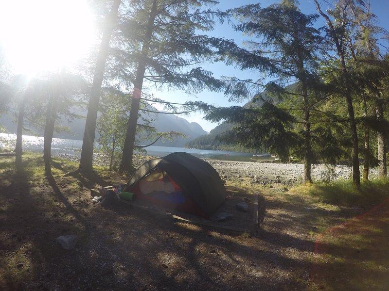 Granite falls campsite