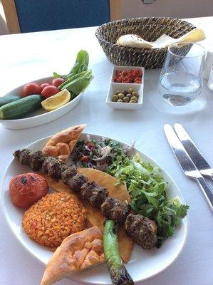 Pistachio Kebab, Istanbul
