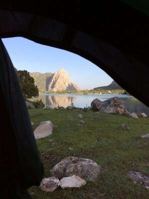 View from a tent, Kulikalon
