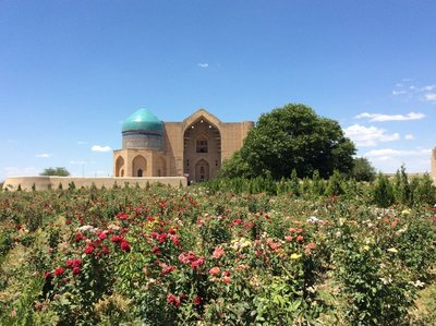 Mausoleum, Turkestan