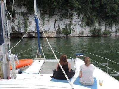Rio Dulce Catamaran sail to Livingston