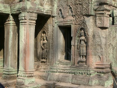 Engravings on Ta Prohm