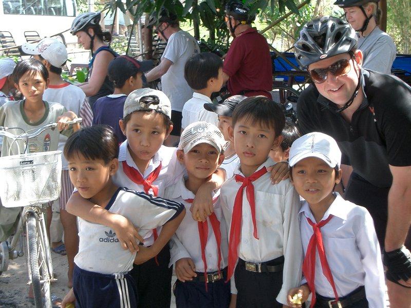 Vietnamese School Kids
