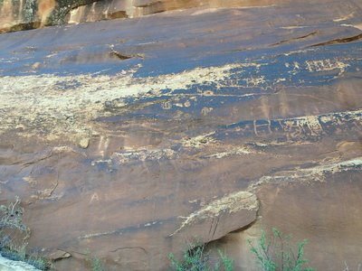 Sand Island Petroglyph 9