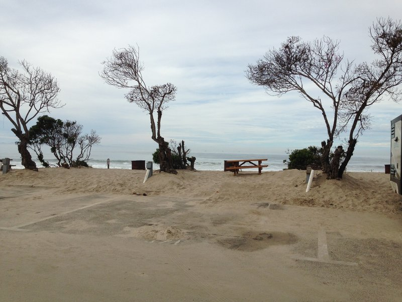 View from Site #R348 - Carpinteria State Beach