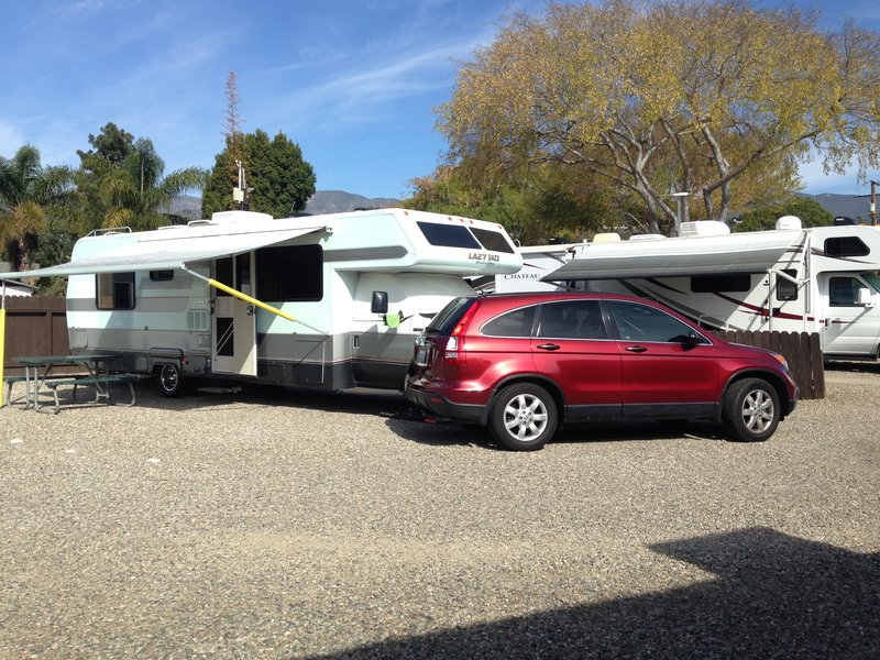 Site #7 - Santa Barbara Sunrise RV Park