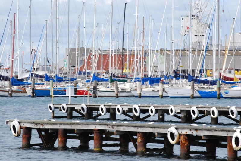 Pier and Boats in Williamstown