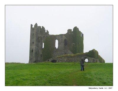Balycarbery Castle, Ireland