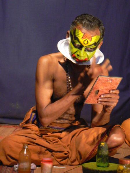 Kathakali - Make-up