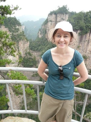 Lisa in Zhangjiajie National Park