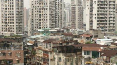 Macau apartment blocks