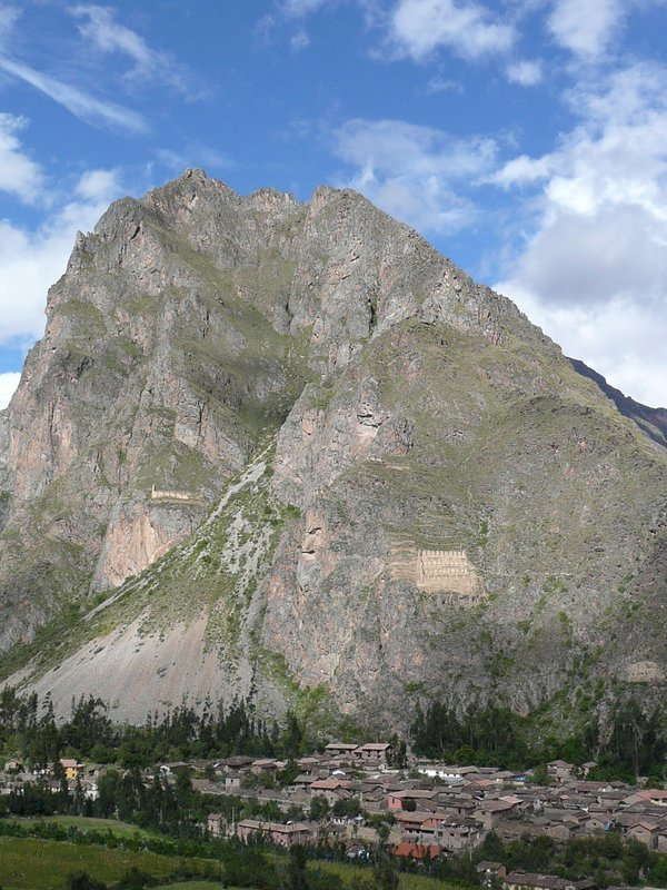 View from Ollantaytambo