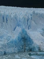 Close up of Perito Moreno Glacier