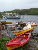 Boats at Puerto Eden
