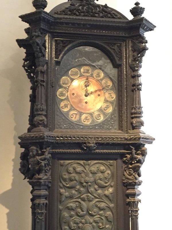 Clock at Gandhi Museum