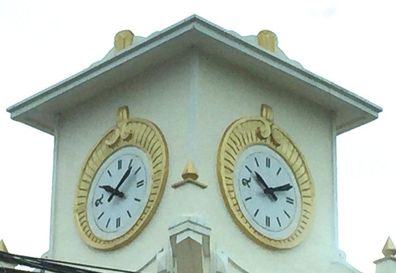Thai clockface