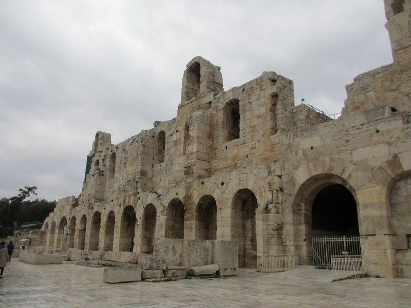 Theatre of Dionysus, front side