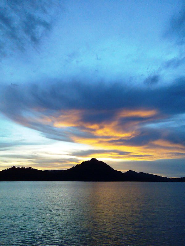 Sunset at Sibolga Strait