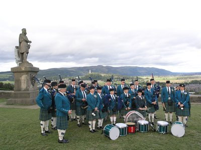 Stirling Castle Pipe Band