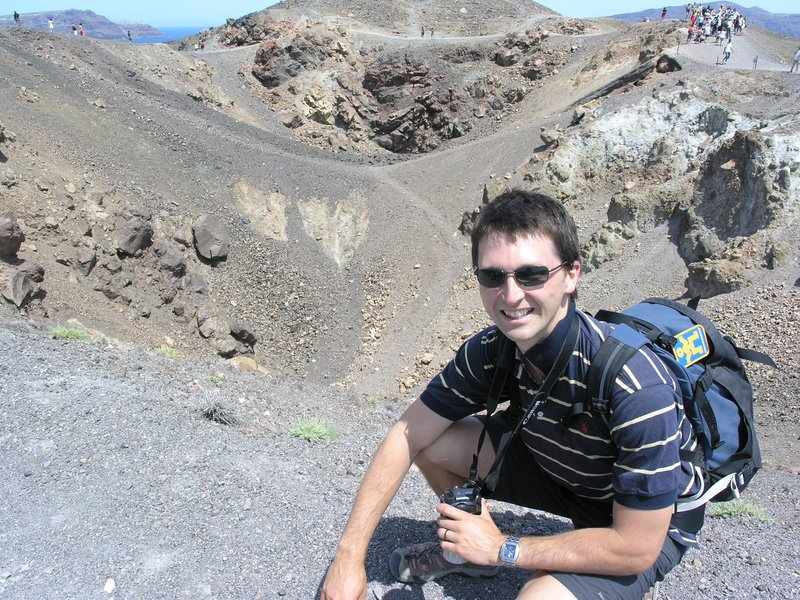 Santorini - Volcano