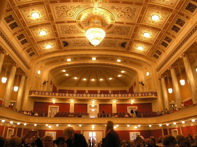 Vienna-Music Haus Performers-Eye-View