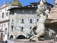 Trento Square - Frescos and Fountains