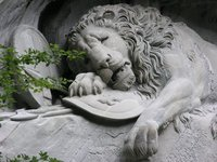 Lucerne-Dying Lion War Memorial