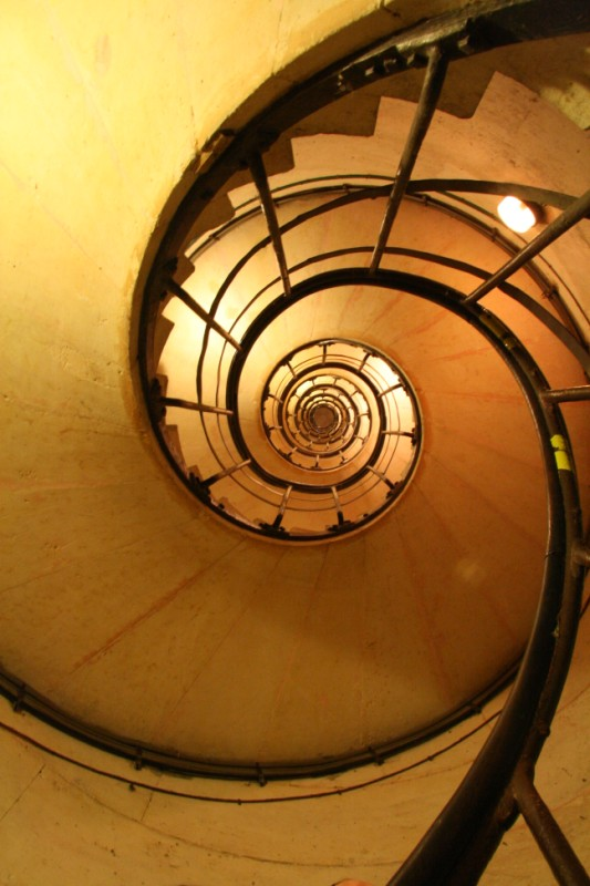 Stair case Arc de Triomphe