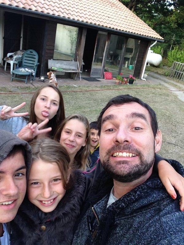 mes enfants et mes nièces