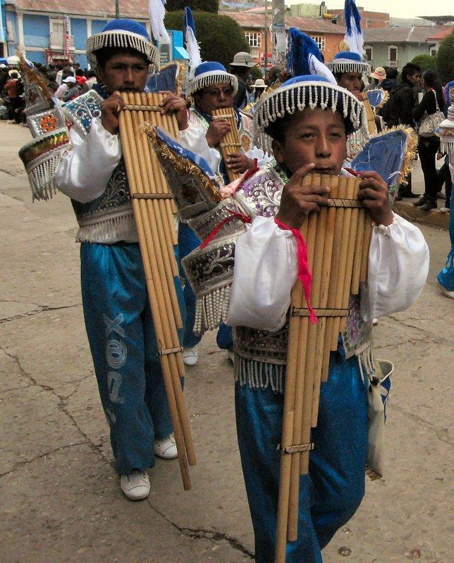 Festival of Candelaria, Puno, Peru