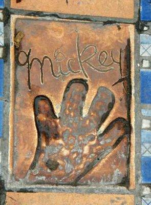 Mickey's Paw Print