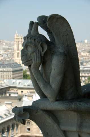 Gargoyle, Notre Dame