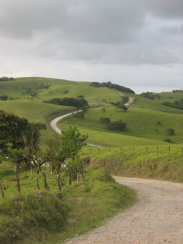 Road from Monteverde