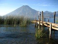 Lago Atitlan and Volcan San Pedro