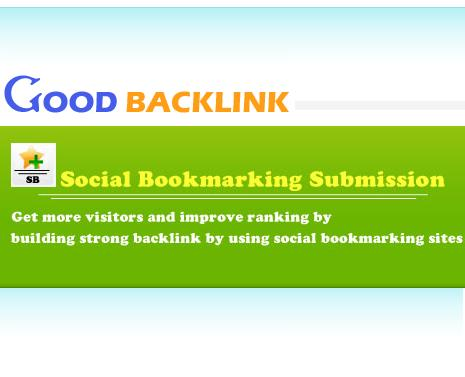 Social bookmark submission service