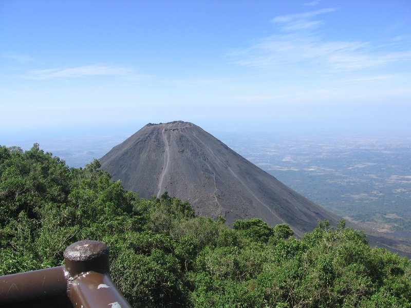 Izalco, vulcano, sansonate