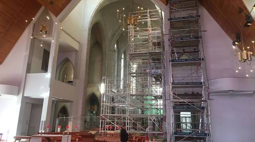Rebuilding the Organ in Holy Trinity Cathedral