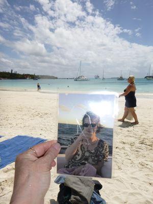 Birgit from Berlin enjoying New Caledonia