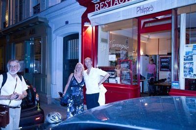 aussirose and Chef Philippe