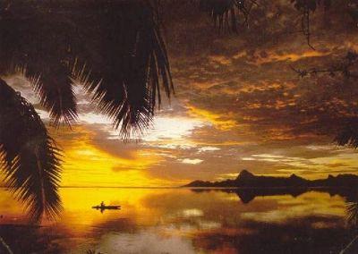 Tahiti sunset - Tahiti