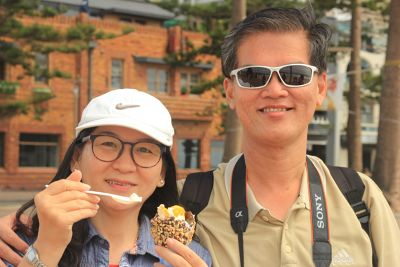 Kak Wan and Swee Long from Penang