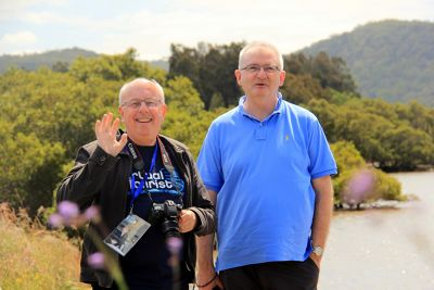 Colin from UK and Albert from Canberra