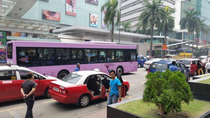 Go-KL - Free Pink Bus - Kuala Lumpur - Kuala Lumpur